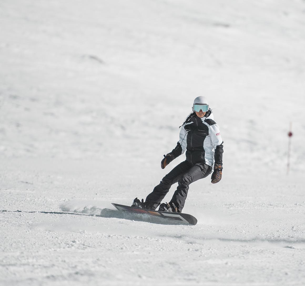 Clases de Snowboard en Sierra Nevada