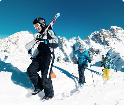 Esquí de travesía en Sierra nevada