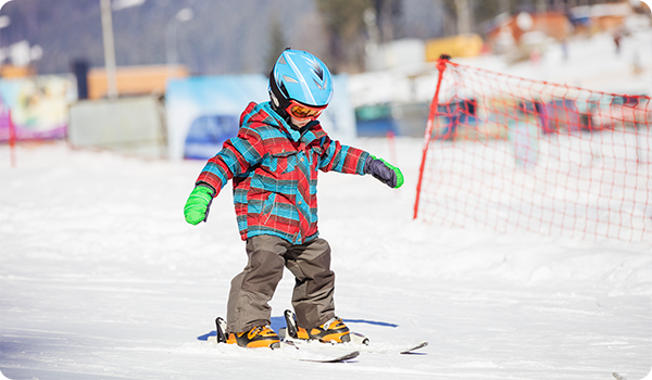 Clases de esquí para niños en Sierra Nevada