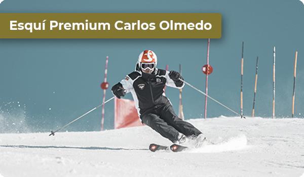 Clases de esqui con Carlos Olmedo