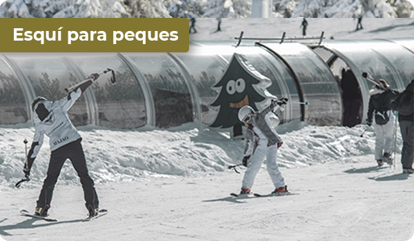 Esquí para niños en Sierra Nevada